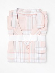 Růžový pyžamový set Růžová