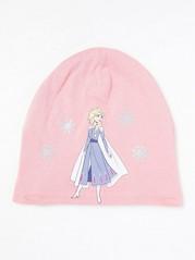 Trikoopipo, jossa Frozen Elsa -painatus Vaaleanpunainen