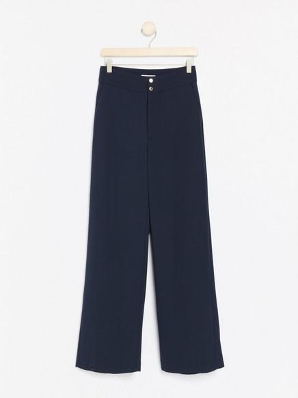 LYKKE – vid marineblå bukse Blå