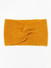 Pletená čelenka Žlutá