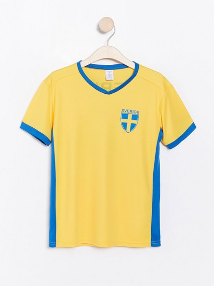 World Cup -t-paita Keltainen