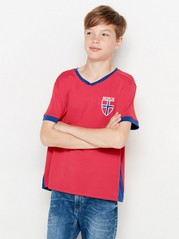 Tröja fotbolls-VM Röd
