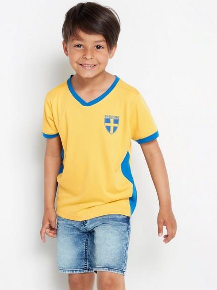 VM-T-skjorte Gul