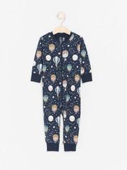 Pyjama, jossa kuumailmapalloja Sininen