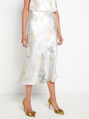 Midi sukně Bílá