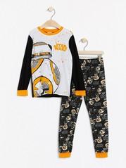 Pyžamo Star Wars Černá