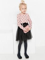 Šaty stylovou sukní Růžová
