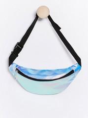 Shiny bum bag Metal