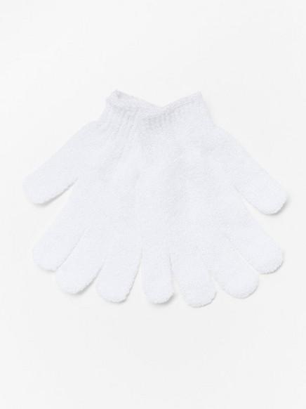 Peelingové rukavice Bez barvy