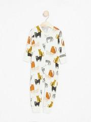 Pyjamas with cats White