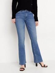 KAREN Blå bootcut jeans Blå