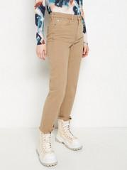 NEA Beige raka high waist-jeans Beige