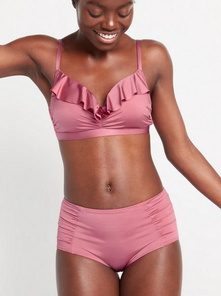 Classic midi bikinitrosa Rosa
