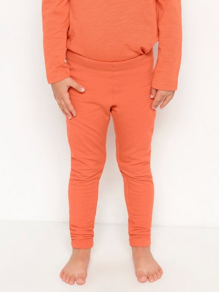 Leggings med borstad insida Orange