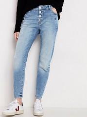 Lyseblå, avsmalnet MAIA-jeans Blå