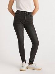 Superstrečové džíny CLARA Černá
