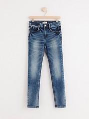 Úzké džíny slim Modrá
