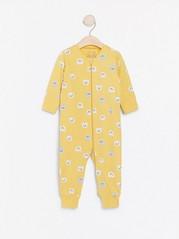 Gul pyjamas med katter Gul