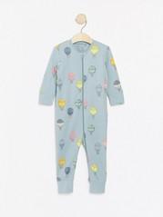 Pyjama, jossa kuumailmapalloja Aqua