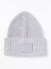 Pletená čepice Šedivá