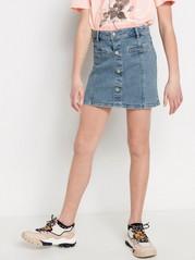 Modrá džínová sukně Modrá