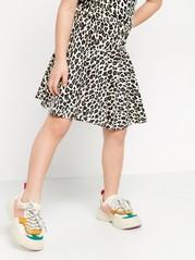 Leopardikuvioitu trikoohame Beige