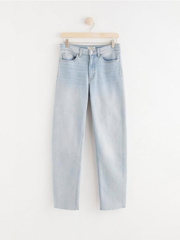 Vid, avkortet bukse med høyt liv