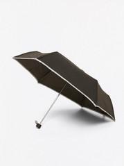 Sateenvarjo, jossa heijastinreunat Metalli