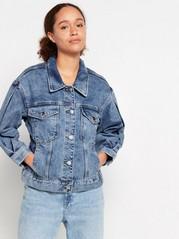 Blå jeansjacka Blå