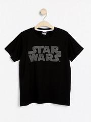 T-paita, jossa Star Wars -kuva Musta