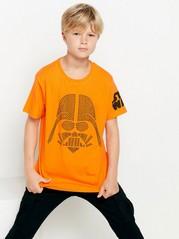 T-skjorte med Star Wars-motiv i nagler Oransje