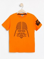 T-shirt med Star Wars-motiv med nitar Orange