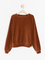 Corduroy sweatshirt  Brown