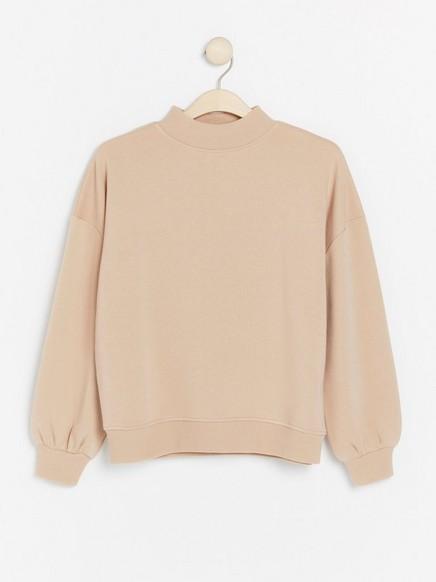 Beige Sweatshirt by Lindex