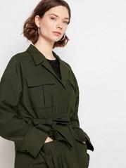 Grønn jakke Grønn