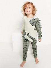Pyžamo sdinosaury Kaki