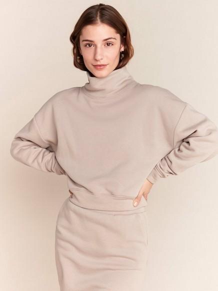 Beige sweatshirt Beige