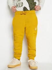 Tepláky se zesílenými koleny Žlutá