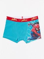 Bokserit, joissa Spider-Man-painatus Turkoosi