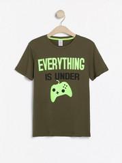Tričko skrátkým rukávem Zelená