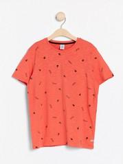 Tričko skrátkými rukávy Oranžová