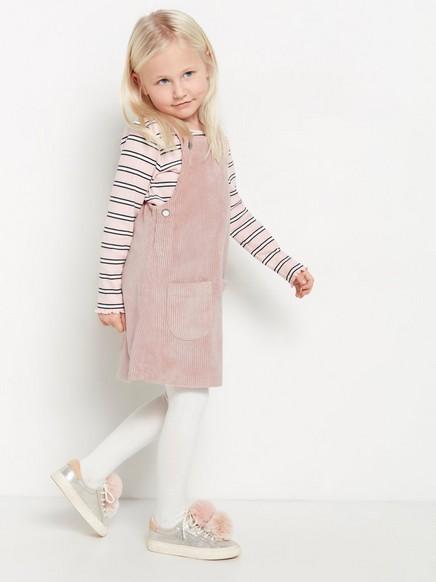 Růžové šaty slaclem Růžová