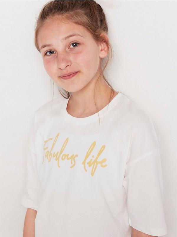 barnas hvite pyjamas bukser