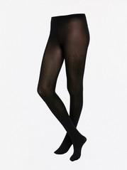 Pilkulliset mustat sukkahousut, 60 denieriä Musta