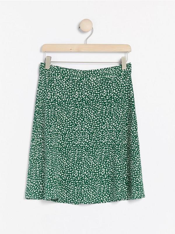 Grønn Mønstret kort skjørt 299, | Lindex