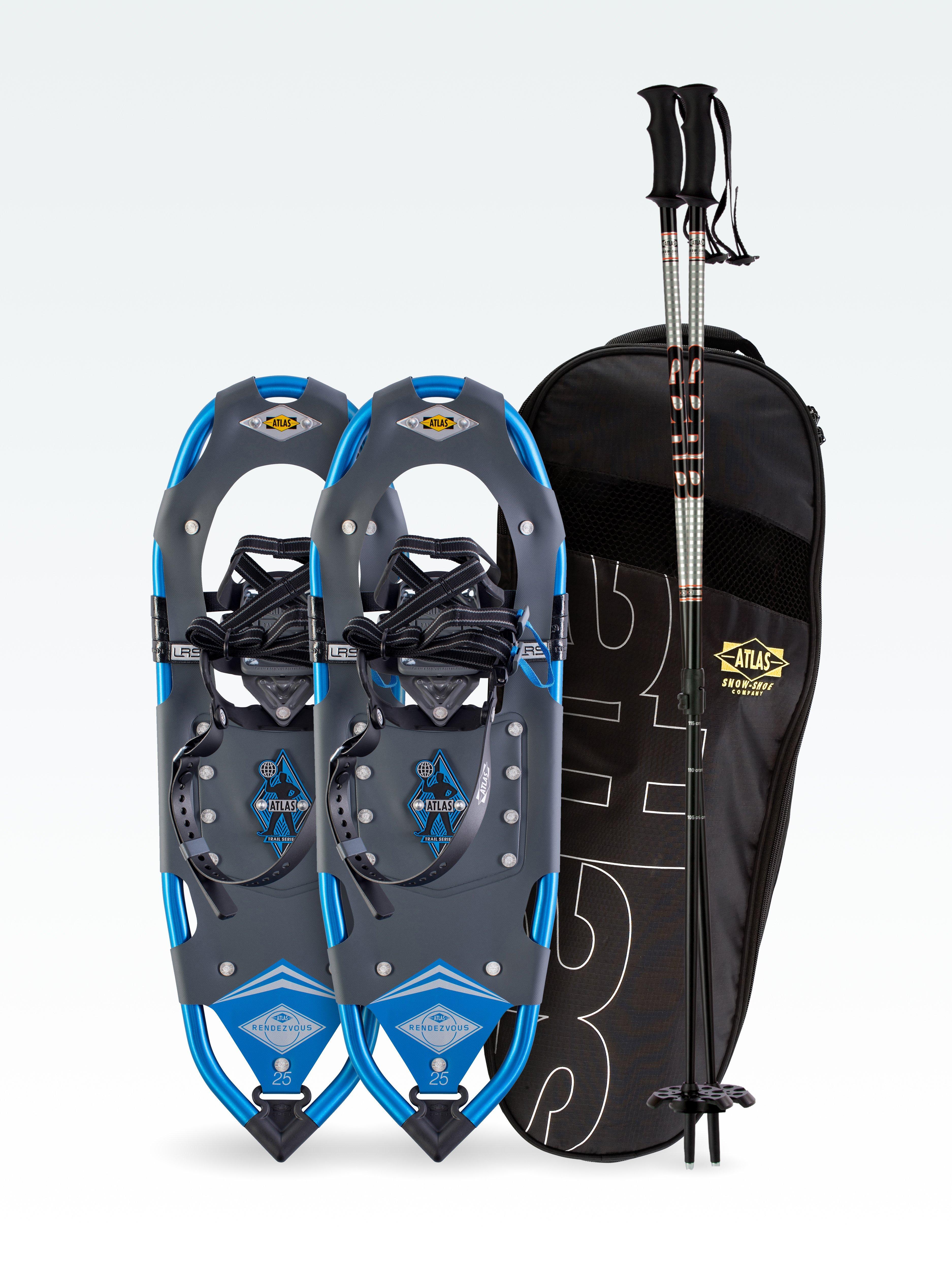 Atlas Snowshoes Company Womens Rendezvous Elektra Snowshoe Kit