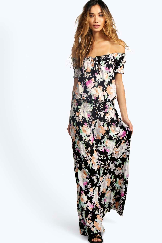 16fa510271 ... floral dresses  off shoulder maxi dress uk ...