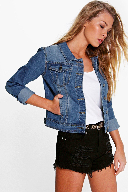 101591ab70b Women Cropped Denim Jacket | Beso