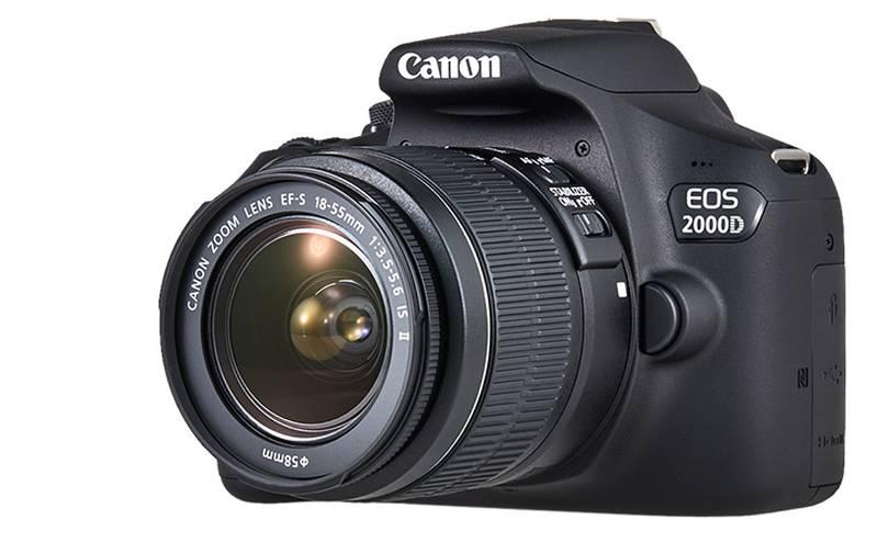 Canon EOS 2000D 18-55mm IS II Fotoğraf Makinesi | Novafotograf.com