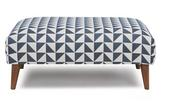 Zinc pattern foot stool
